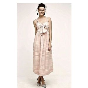 Whit Two pink maxi dress